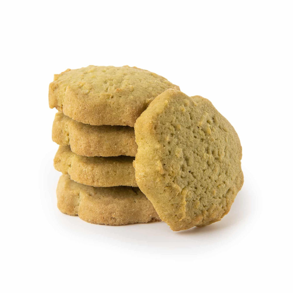 Load image into Gallery viewer, La Biscuitery - Les Sablés - Organic Matcha Tea & Coconut Cookies