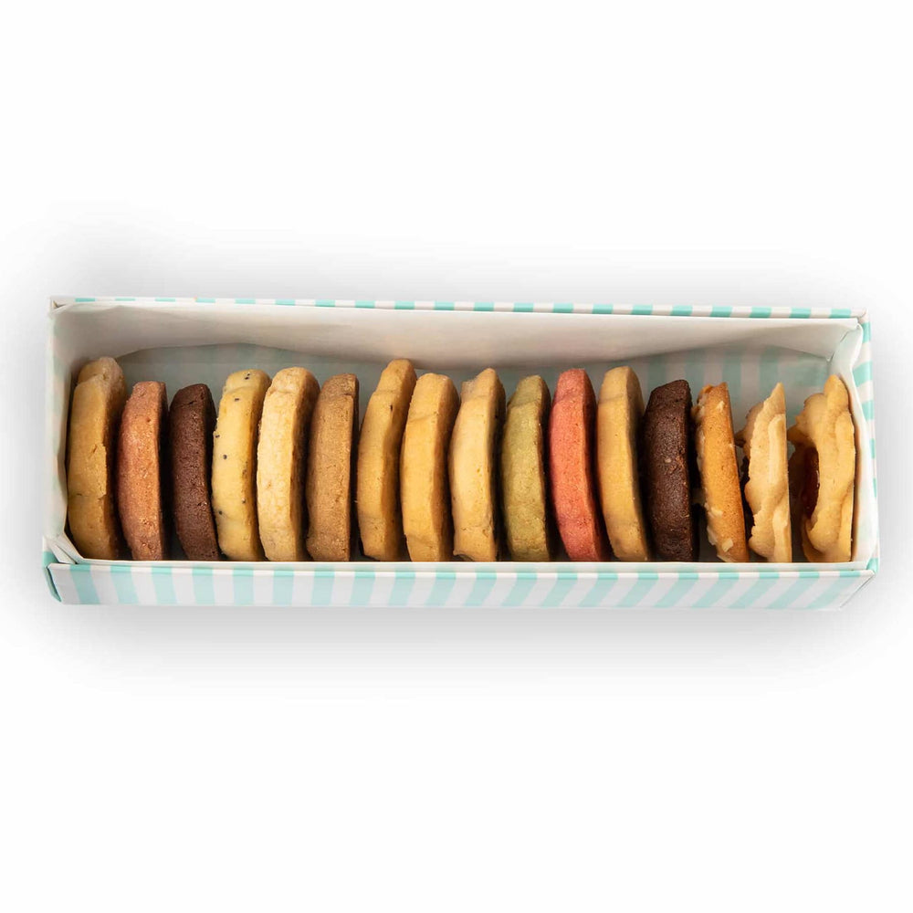 Assorted Les Sablés Cookies Gift Box (16)