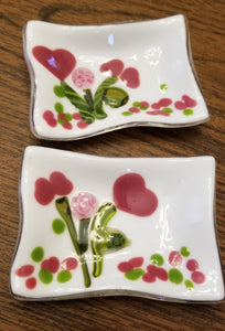 Heart Bouquet Trinket Dishes