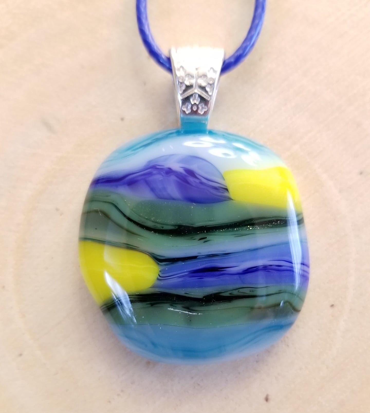 Sun, Sky and Land Pendant
