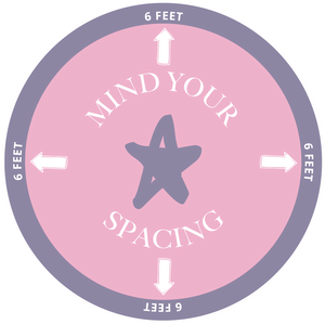 Mind Your Spacing - Social Distancing Floor Decal
