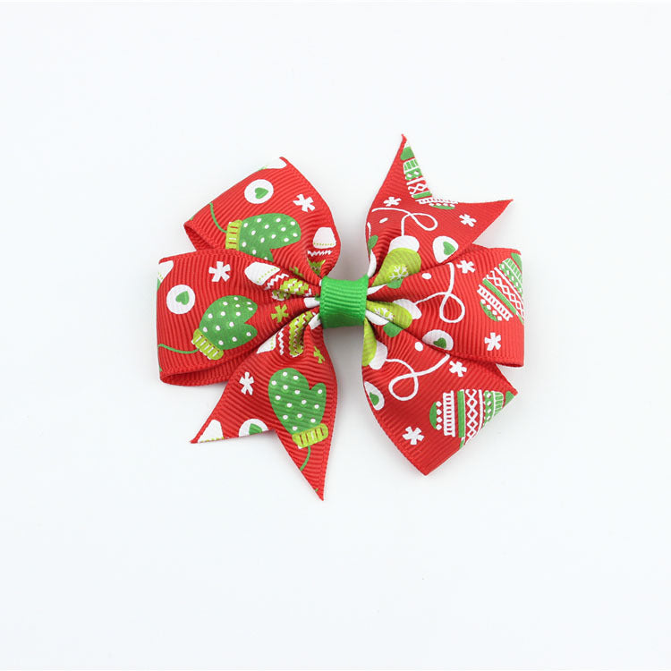 Holiday Season Hair Bow 3