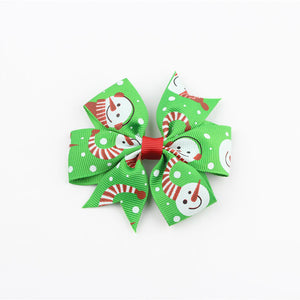 "Holiday Season Hair Bow 3"" - 20 Pack"