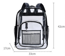 Load image into Gallery viewer, Clear Cleanable OH! Bag - Backpack
