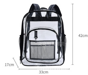 Clear Cleanable OH! Bag - Backpack