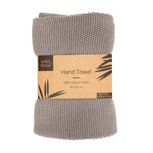 Load image into Gallery viewer, Hand Towels - 100% organic Cotton - Dove Grey