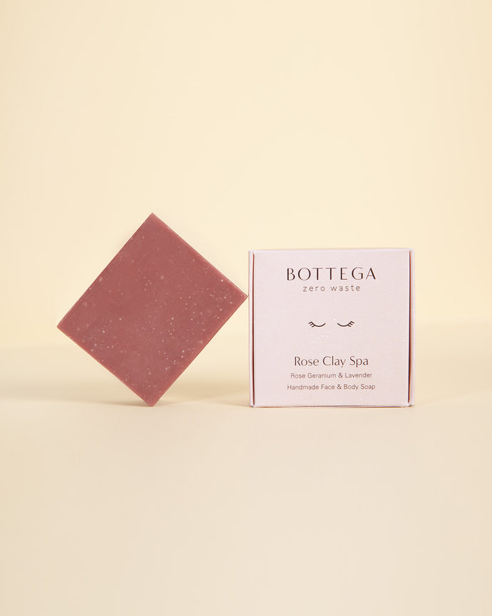 Rose Clay Face and Body Soap