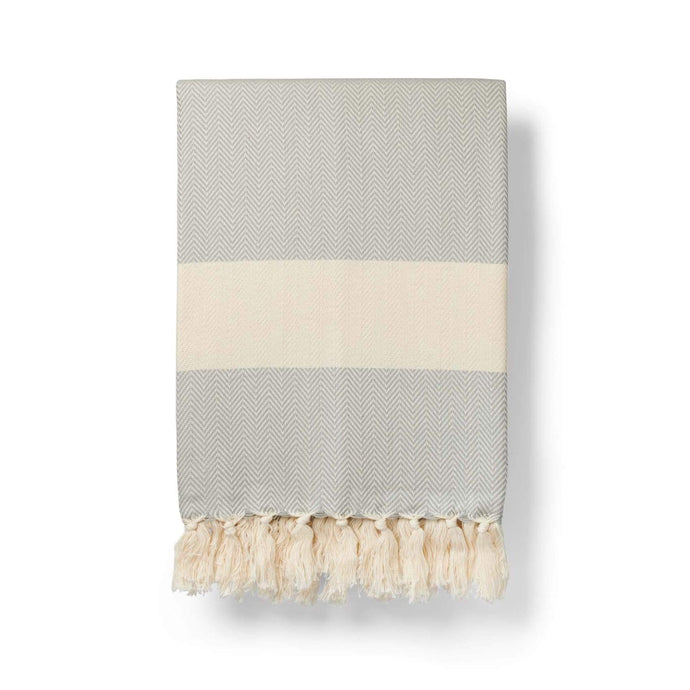 Farrah | Luxurious Large Organic Cotton Blanket-Blankets and Throws-Lüks-Animo Store