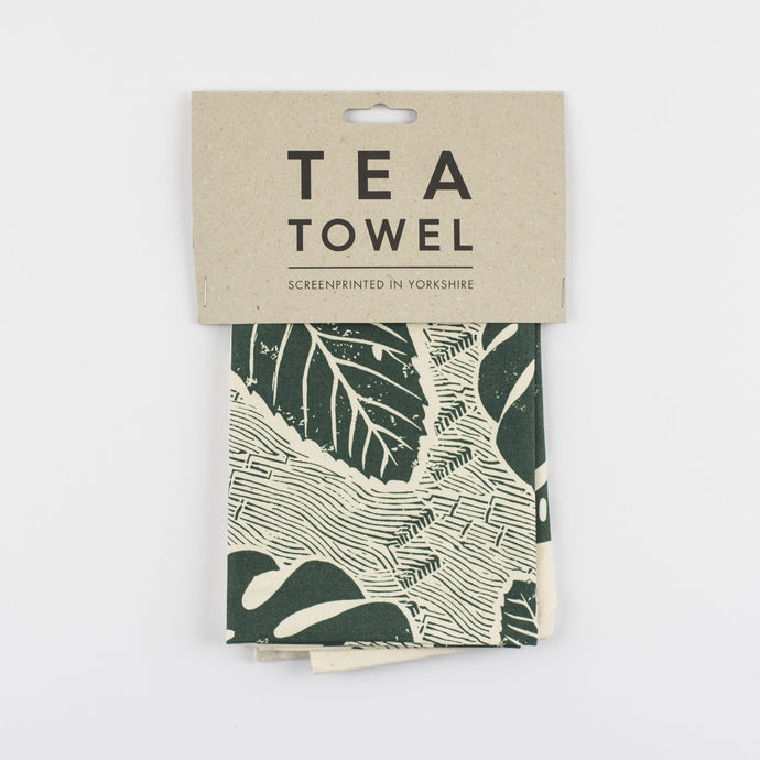Leaf Tea Towel-Tea Towel-Studio Wald-Animo Store