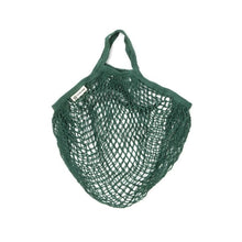 Load image into Gallery viewer, Organic Cotton String Bag | Bottle Green-Organic String Bag-Turtle Bags-Animo Store