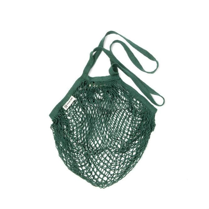 Organic Cotton String Bag | Bottle Green-Organic String Bag-Turtle Bags-Animo Store