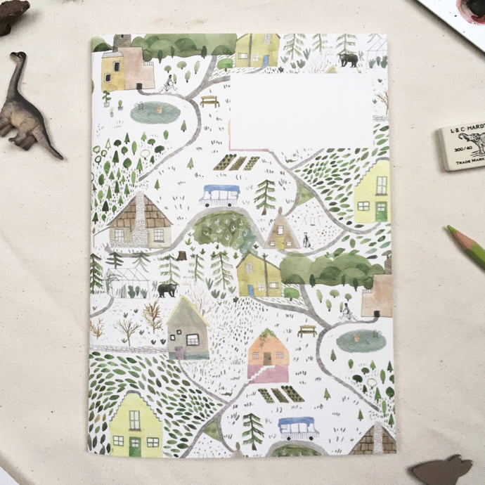 """Our Town"" A5 Jotter-Jotter-Dear Prudence-Animo Store"