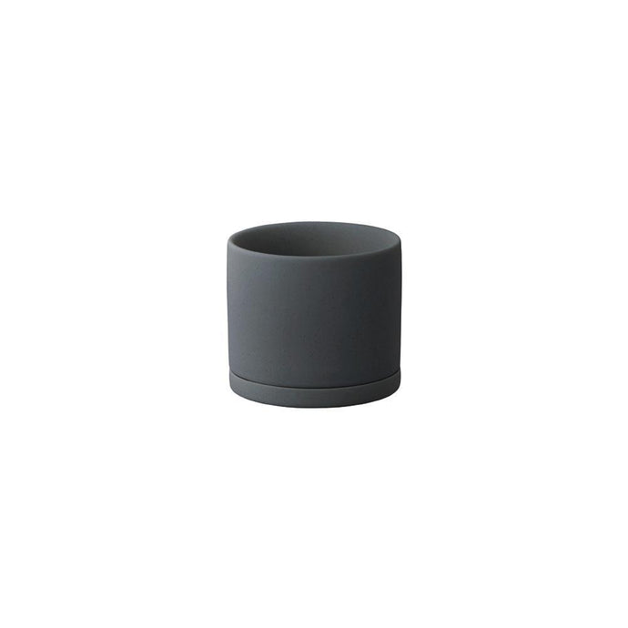 Plant Pot in Dark Grey-Plant Pot-KINTO-85mm-Animo Store