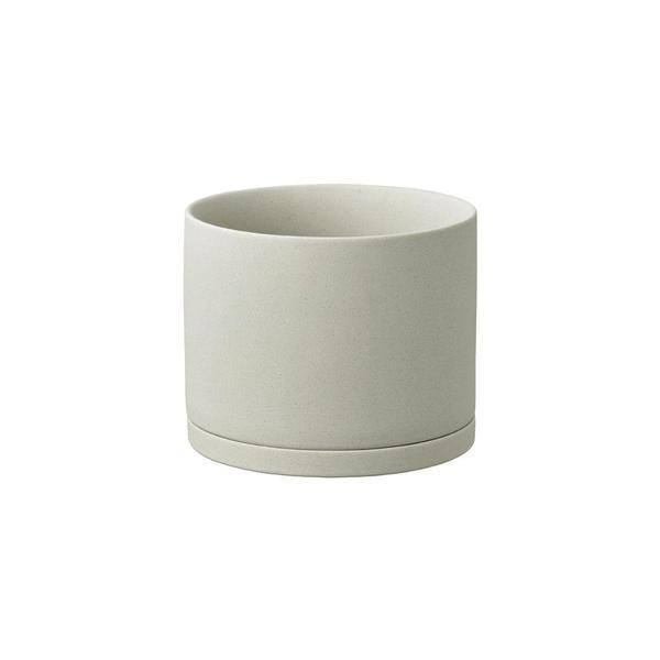 Plant Pot in Earth Grey-Plant Pot-KINTO-155mm-Animo Store