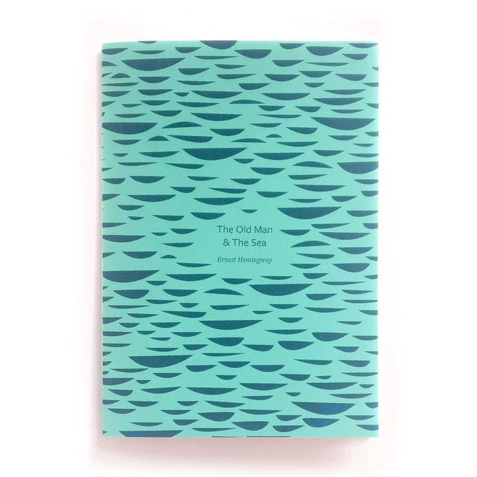 The Old Man At Sea - Hand bound book-Book-Ffaun-Animo Store