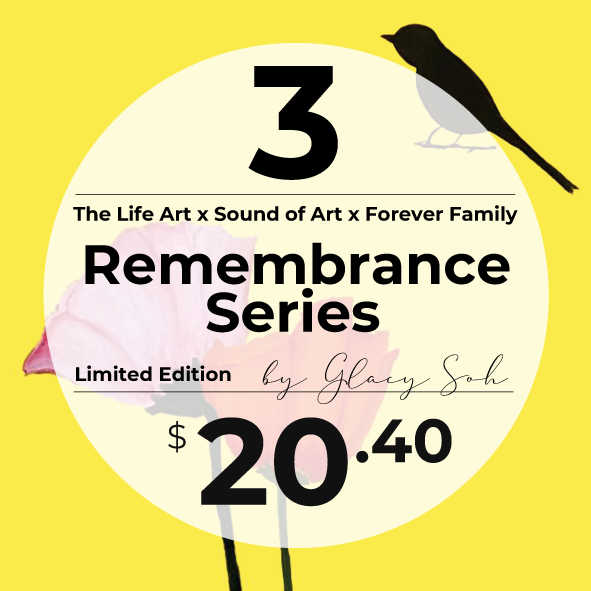 Remembrance Series (3pcs Set) *Limited Edition* + 1 FREE Randomly Selected (Not valid with other promotions), Singpost normal mail, 5 to 10 days