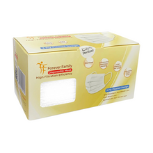 Load image into Gallery viewer, Adult Size: White 3 Ply Disposable Mask 48 Boxes x 50 pcs (wholesale)