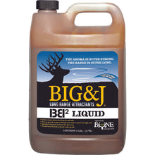 Load image into Gallery viewer, Big And J Bb2 Liquid Attractant 1 Gal.