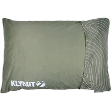 Load image into Gallery viewer, Klymit Drift Camping Pillow Green Large