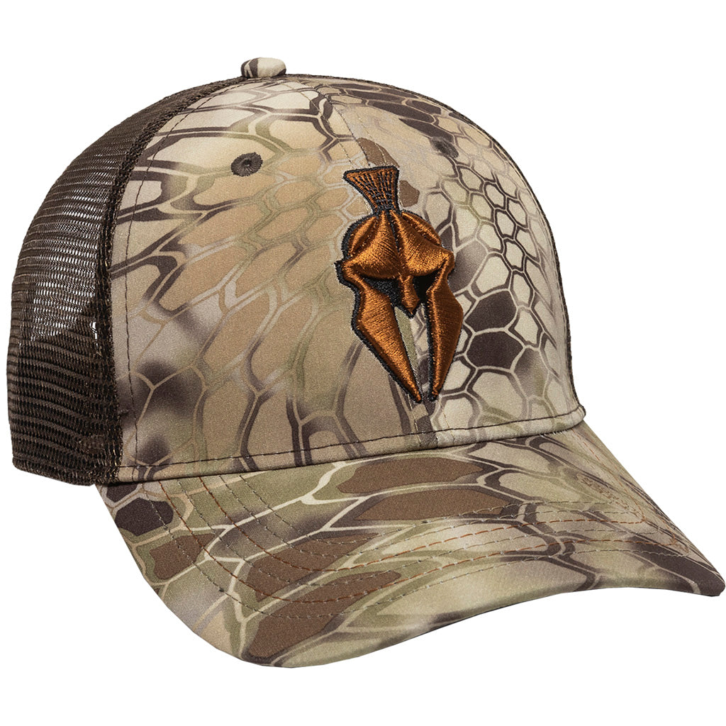 Outdoor Cap Krpytek Meshback Cap Highlander-brown