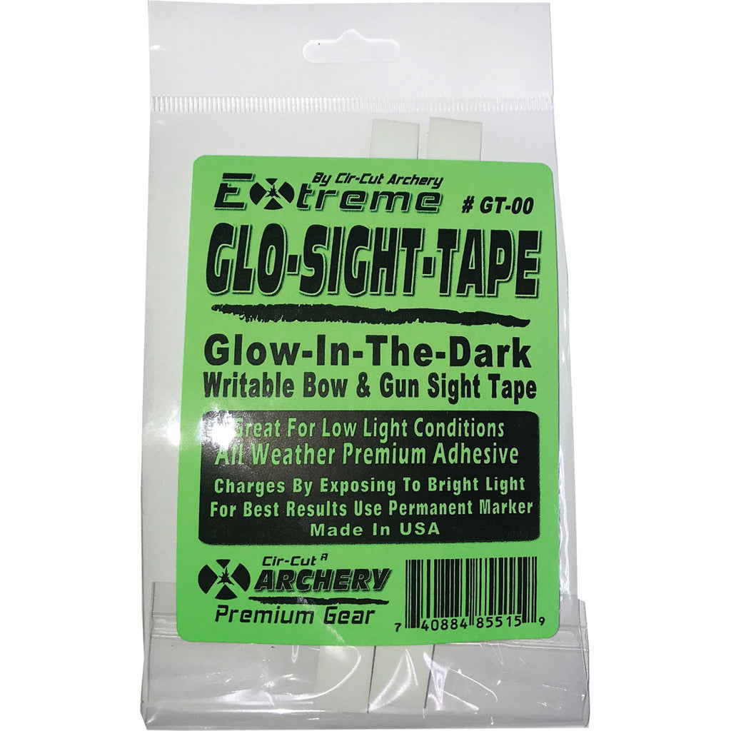 Cir-cut Sight Tape Glow In The Dark 2 Pk.