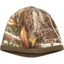 Load image into Gallery viewer, Hot Shot Mustang Fleece Beanie Realtree Edge