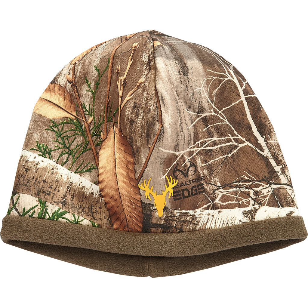 Hot Shot Mustang Fleece Beanie Realtree Edge