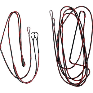 Firststring Genesis String And Cable Set Red- Black