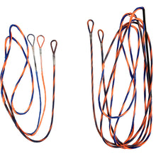 Load image into Gallery viewer, Firststring Genesis String And Cable Set Blue- Flo Orange