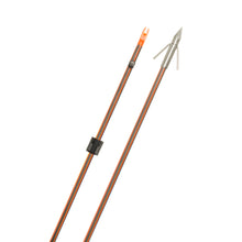 Load image into Gallery viewer, Fin Finder Hydro Carbon Il Bowfishing Arrow W-big Head Point