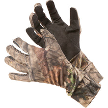 Load image into Gallery viewer, Vanish Spandex Hunt Gloves Mossy Oak Country