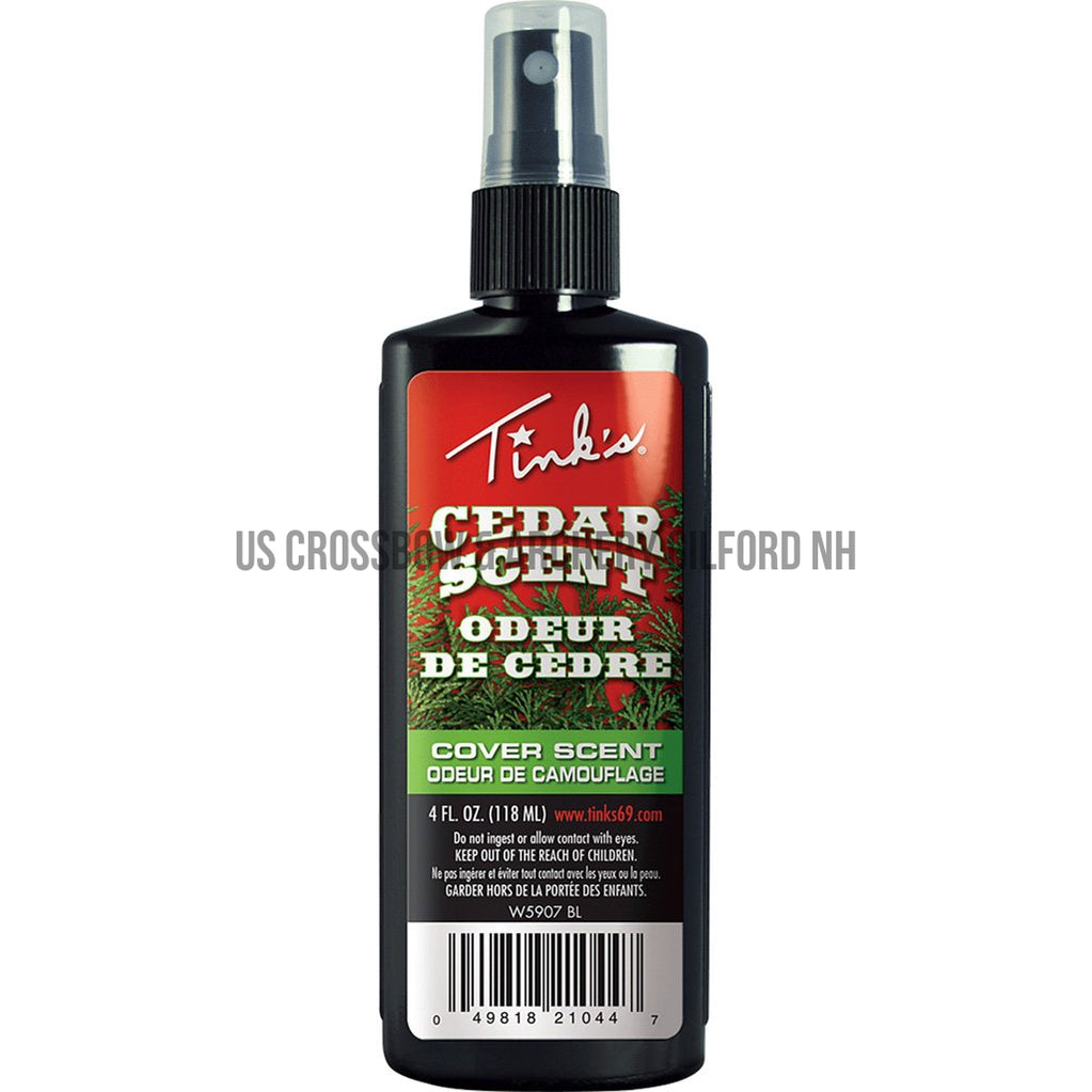Tinks Cedar Cover Scent 4 Oz.-Tinks-US Crossbow Store