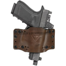 Load image into Gallery viewer, Limbsaver Cross-tech Holster Dark Leather Clip On