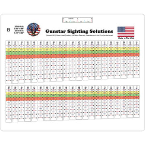 Gunstar Pro Series Sight Tapes B - Medium