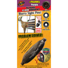 Load image into Gallery viewer, Specialty Archery Pxl Hunter Ez-view Verifier Kit No. 5 Purple