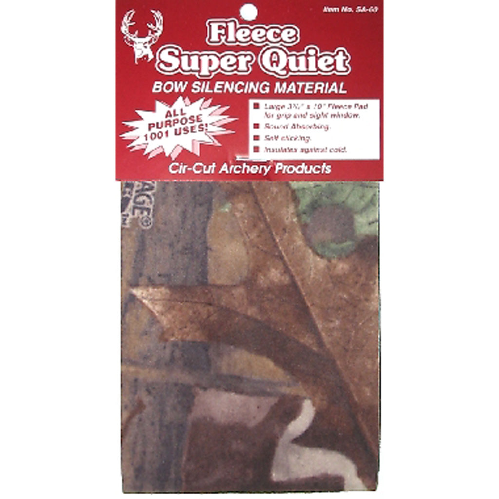 Cir-cut Micro Fleece Silencing Material Camouflage 3.75x10 In-Cir-cut-US Crossbow Store