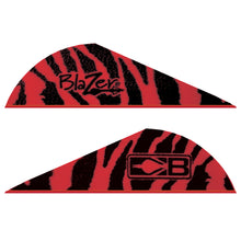 Load image into Gallery viewer, Bohning Blazer Vanes Red Tiger 100 Pk.