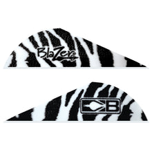 Load image into Gallery viewer, Bohning Blazer Vanes White Tiger 100 Pk.