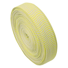 Load image into Gallery viewer, October Mountain Vibe String Silencers White-neon Yellow 85 Ft.