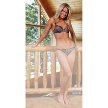 Load image into Gallery viewer, Wilderness Dreams Padded Bra Mossy Oak Breakup 32a