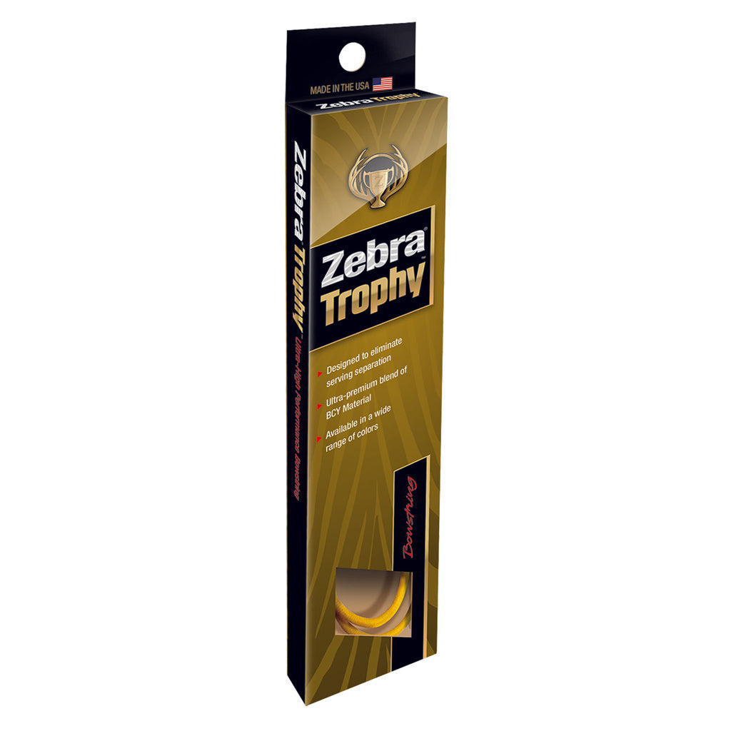 Zebra Trophy String Zxt Kiwi-black 82 7-8 In.