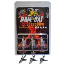 Load image into Gallery viewer, Ramcat Crossbow Broadheads 125 Gr. 3 Pk.