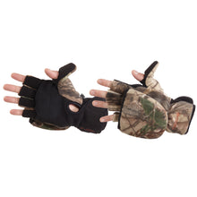 Load image into Gallery viewer, Manzella Bowhunter Convertible Glove-mitten Realtree Xtra X-large