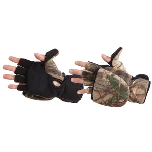 Manzella Bowhunter Convertible Glove-mitten Realtree Xtra X-large