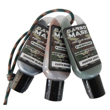 Load image into Gallery viewer, Carbo Mask Facepaint Black-green-brown 1 Oz. 3 Pk.