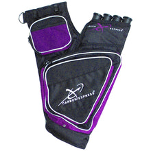 Load image into Gallery viewer, Carbon Express Target Quiver Purple-black Rh