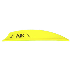 Bohning Air Vanes Neon Yellow 2 In. 100 Pk.