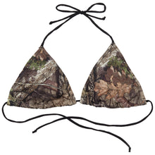 Load image into Gallery viewer, Wilderness Dreams Stringbikini Top Mossy Oak Country Medium