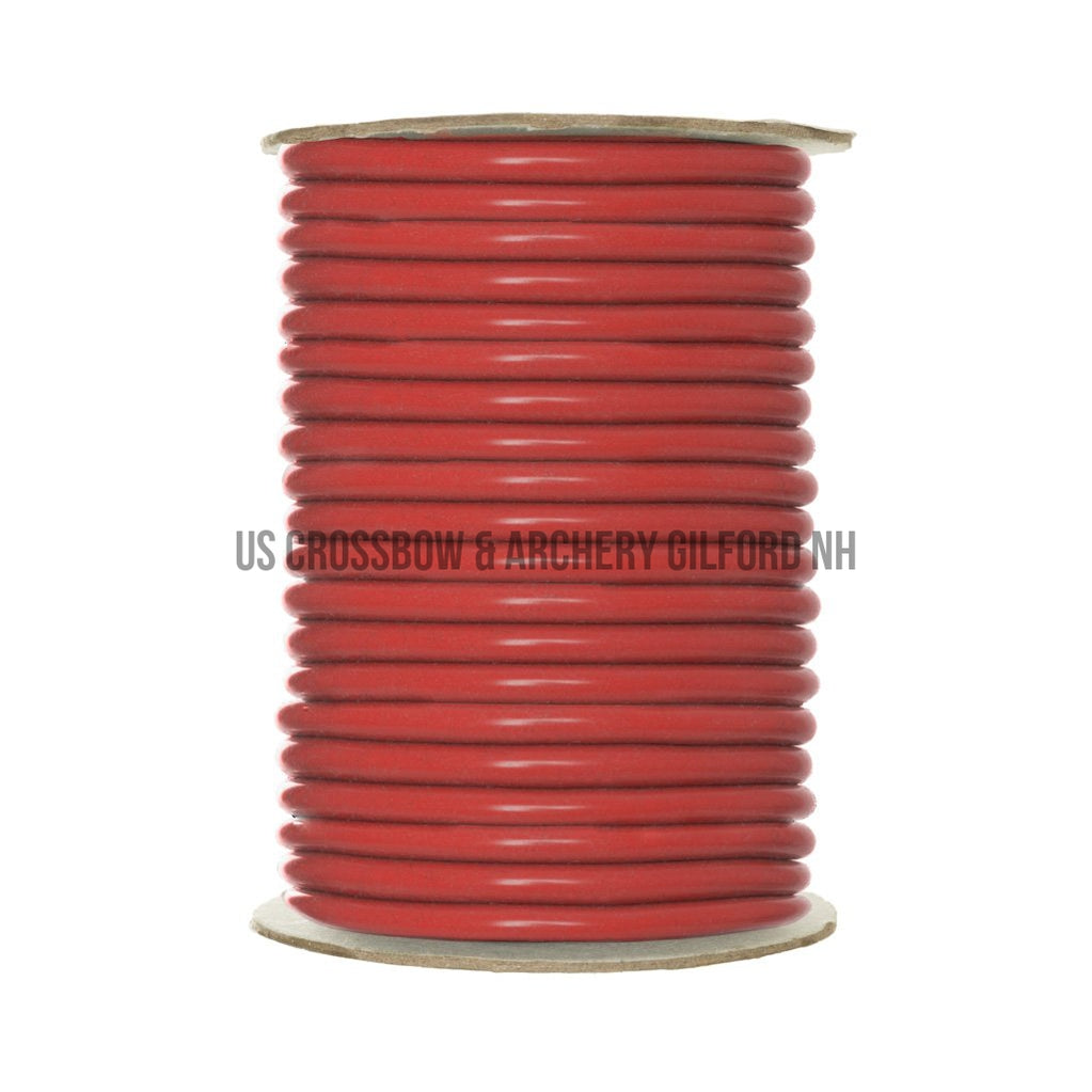 October Mountain Trutube Peep Tubing 25 Ft. Red-October Mountain-US Crossbow Store