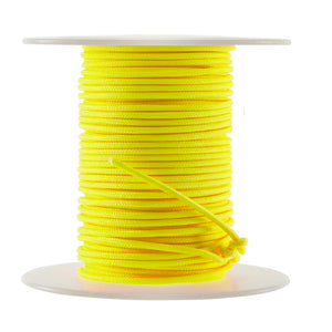 October Mountain Endure-xd Release Loop Rope Flo Yellow 100 Ft.